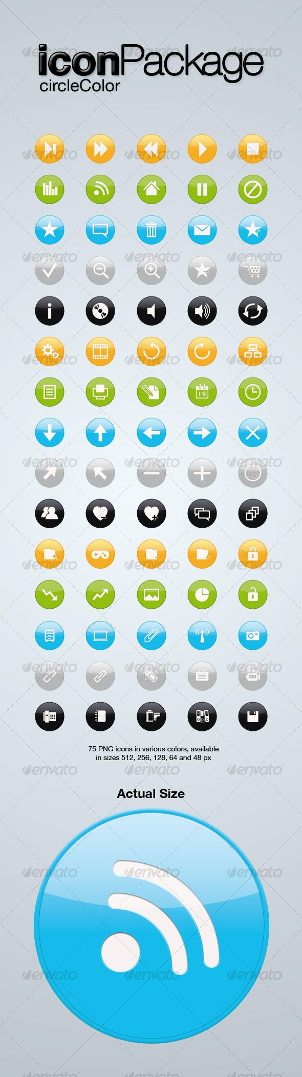 Icon Package - Web Icons