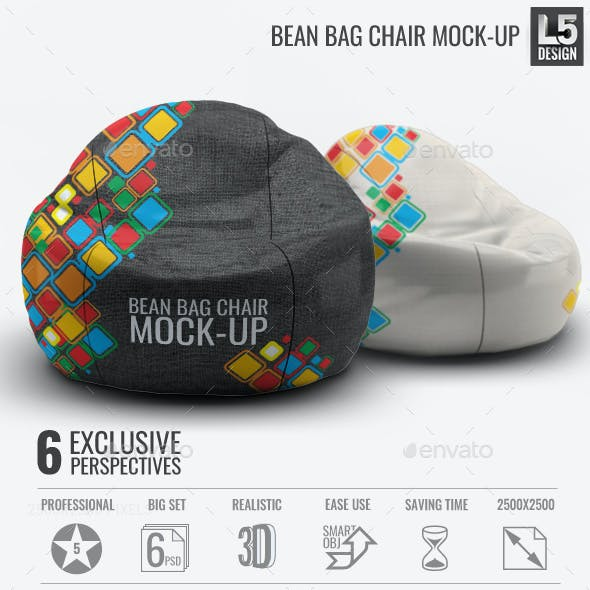 Bean Bag Chair Mock-Up