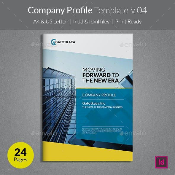 Company Profile Template v04
