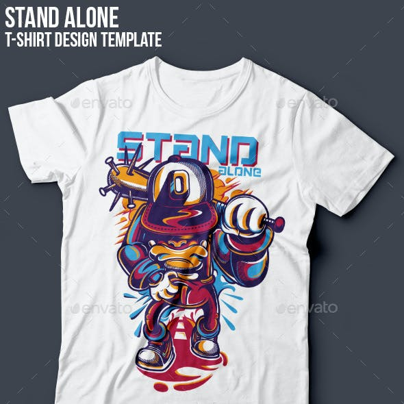 Stand Alone T-Shirt Design