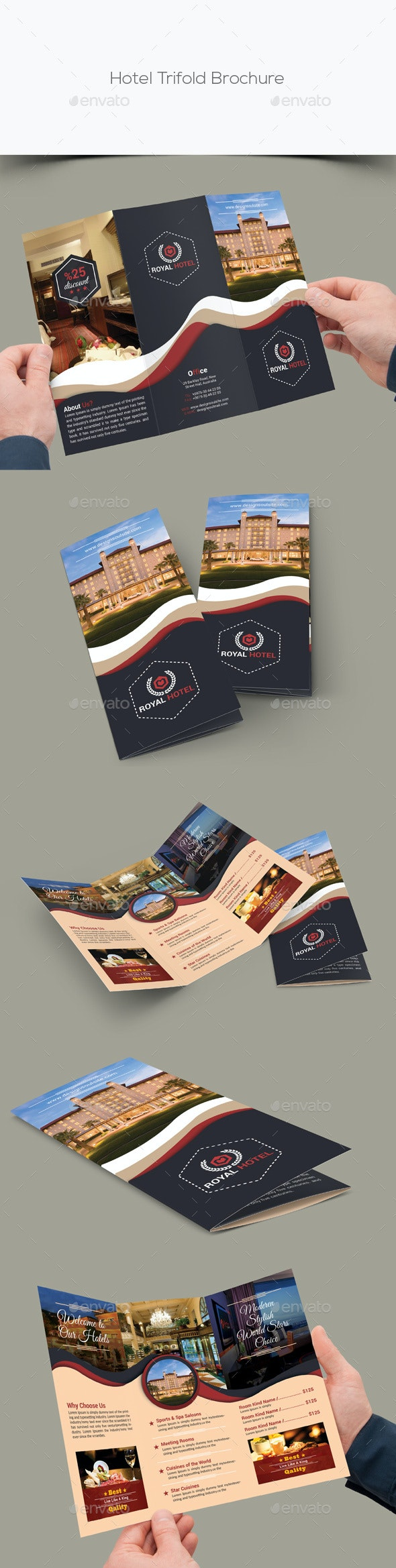 Hotel Trifold Brochure - Corporate Brochures