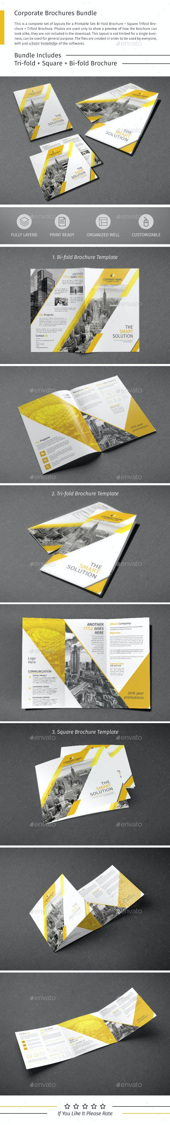 Brochure Bundle 07 - Corporate Brochures