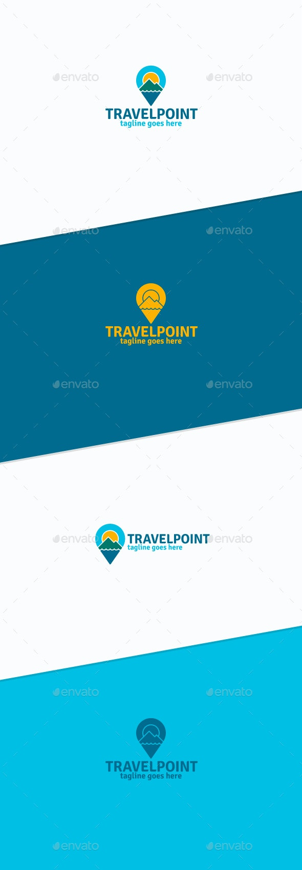 Travel Point Logo - Nature Logo Templates