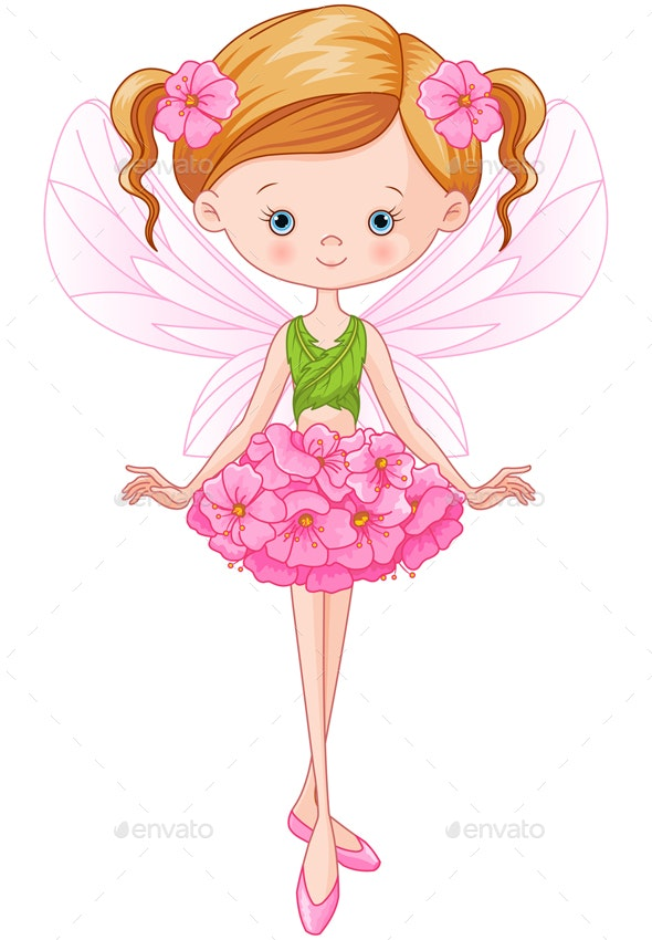 Flower Fairy  - People Characters