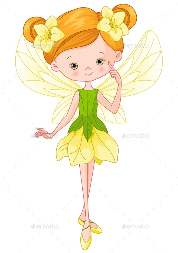Forest Fairy - People Characters