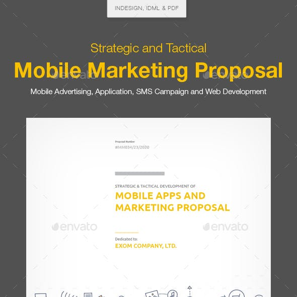 Clean Mobile Marketing Proposal