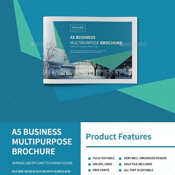 A5 Business Multipurpose Brochure