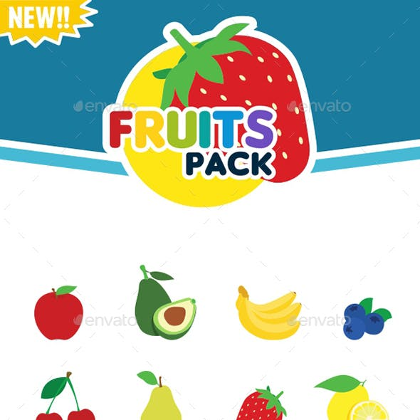 Vector Fruits Pack