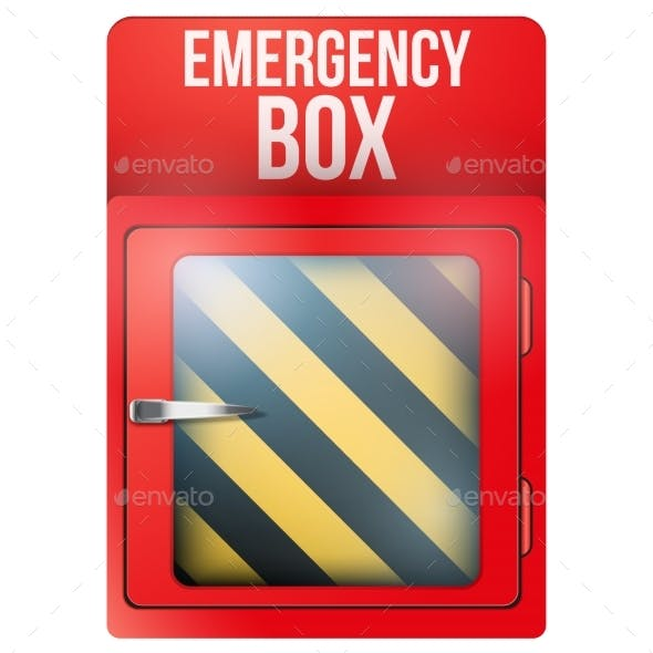 In Case Of Emergency Red Box
