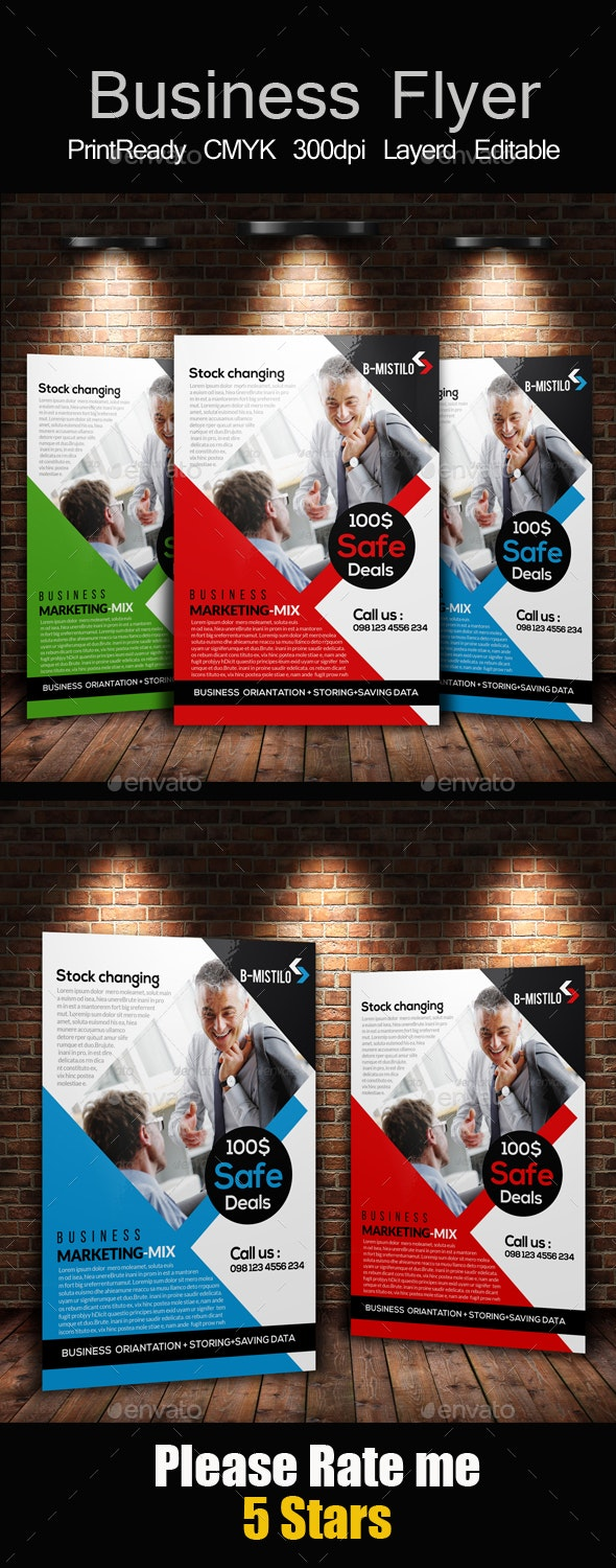 Company Flyer Ad Templates - Corporate Flyers