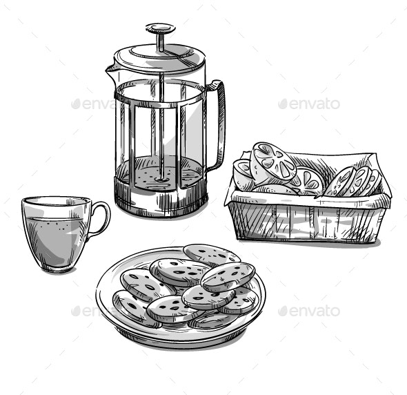 Tea - Food Objects