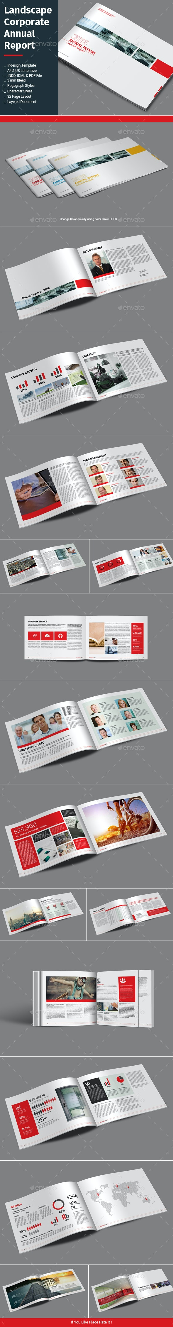 Landscape Corporate Annual Report - Informational Brochures