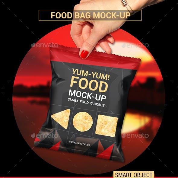 Food Bag Mock-Ups