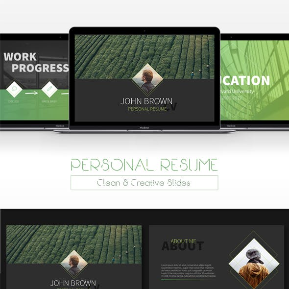 Resume - Creative Powerpoint Template