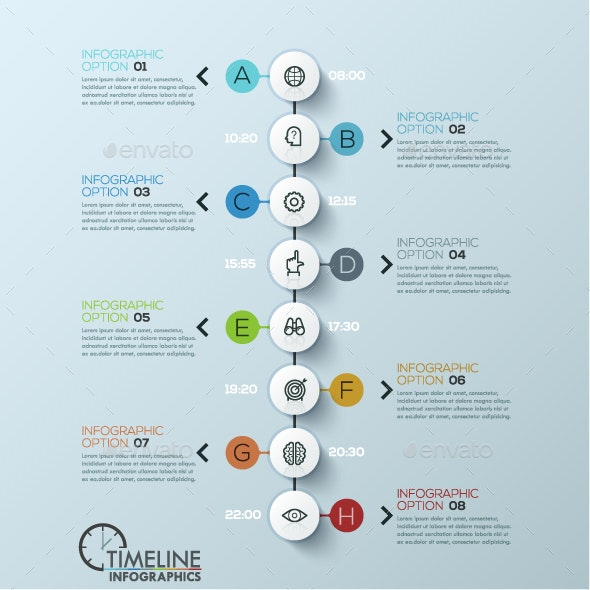 Modern Infographic Timeline Template - Infographics