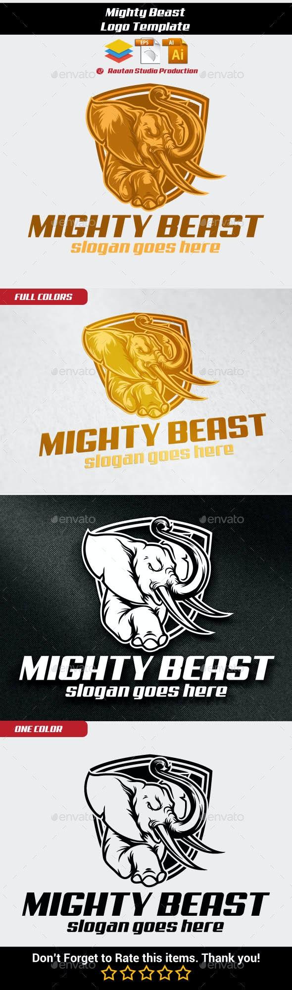 Mighty Beast - Animals Logo Templates