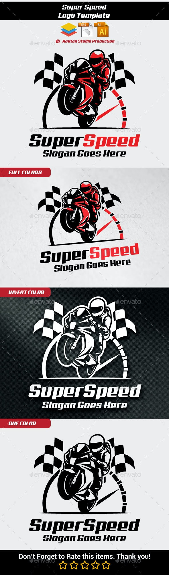 Super Speed - Objects Logo Templates