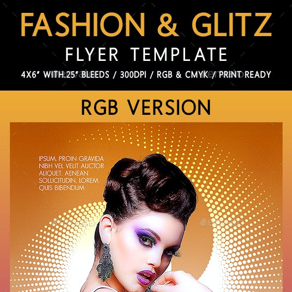 Fashion & Glitz Flyer Template