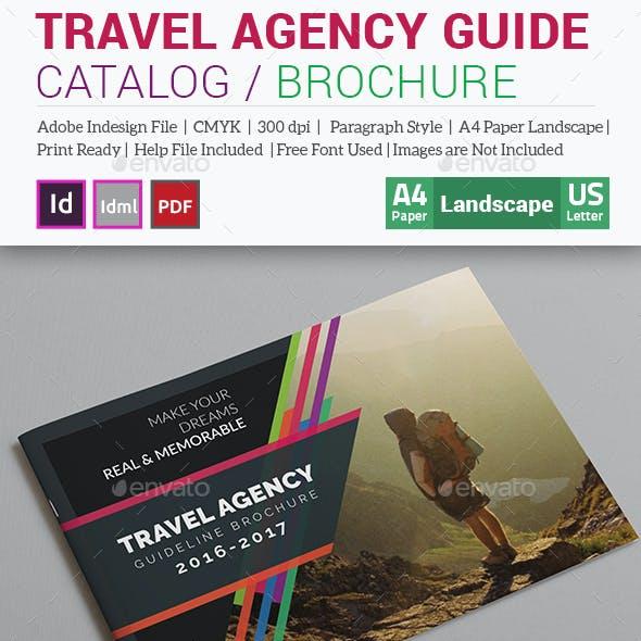 Travel Agency Guide Catalog / Brochure