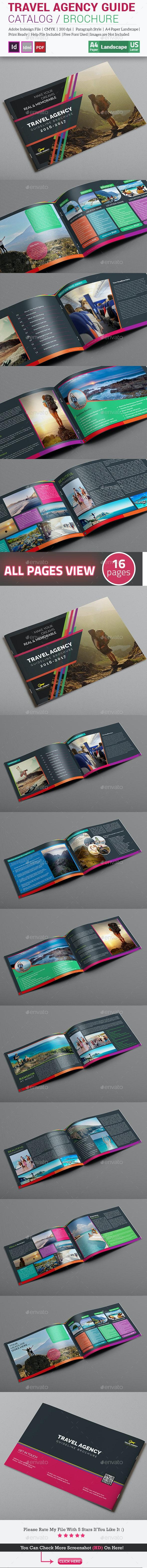 Travel Agency Guide Catalog / Brochure - Catalogs Brochures