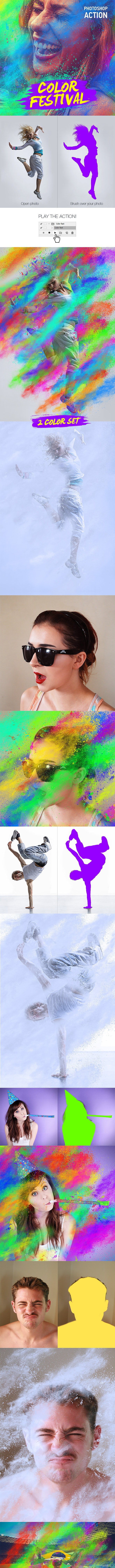 Color Festival - Photo Effects Actions