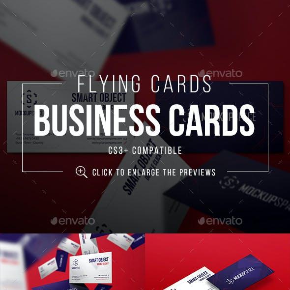 Flying Elegant Business Cards