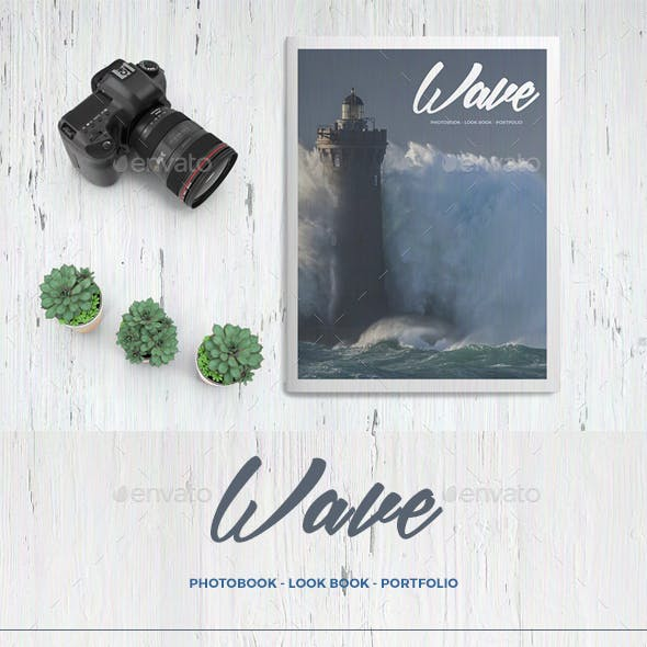 Wave - Photo Book