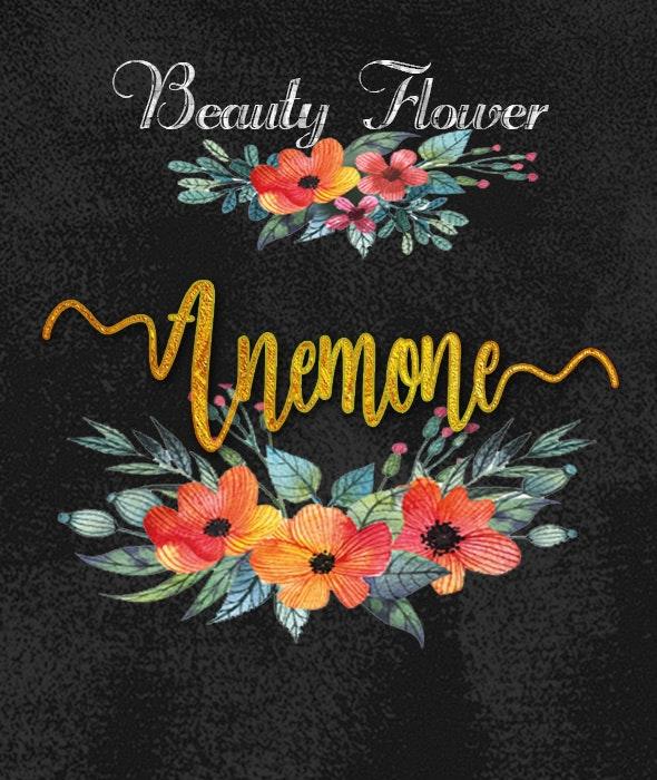 Anemone - Fonts