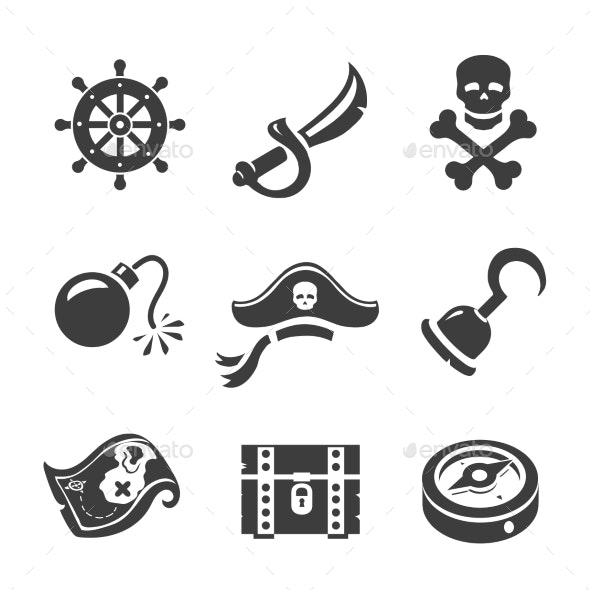 Pirate Icons - Man-made Objects Objects