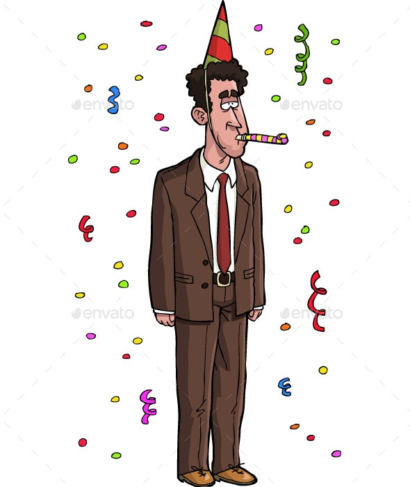 Dull Tax Agent - People Characters