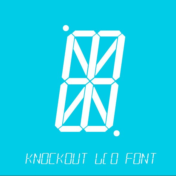 Knockout LCD