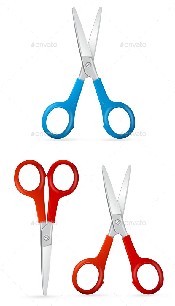 Scissors Set - Man-made Objects Objects