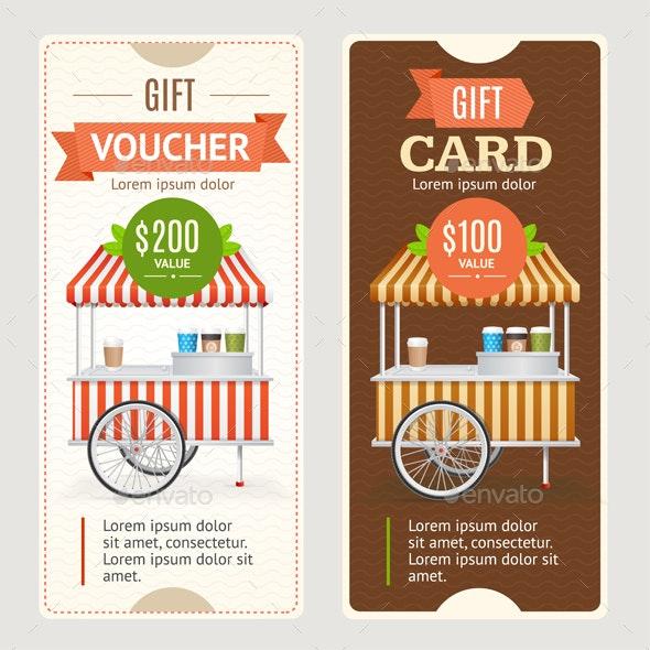 Gift Voucher Set - Miscellaneous Conceptual