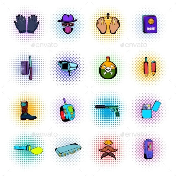 Spy Comics Icons - Miscellaneous Icons