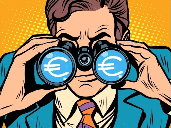 Monitoring the Currency Euro Exchange Rate - Concepts Business