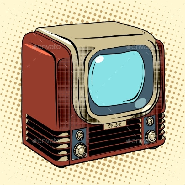 Retro TV Home Appliances - Retro Technology
