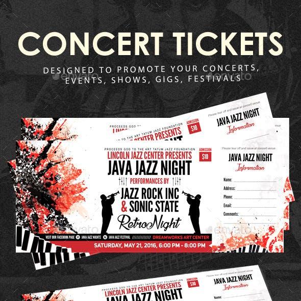 Concert Event Tickets
