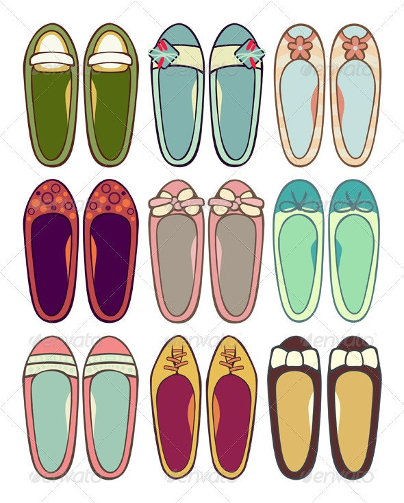 Ballerinas - Man-made Objects Objects