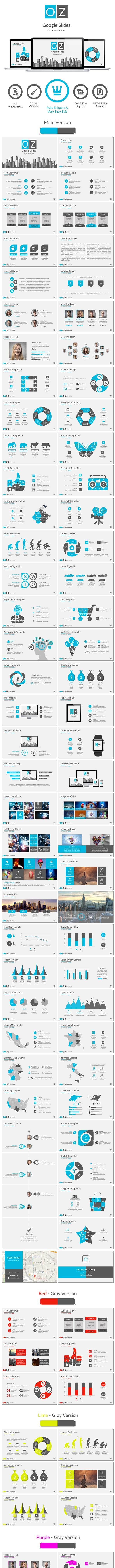 OZ Google Slides - Google Slides Presentation Templates