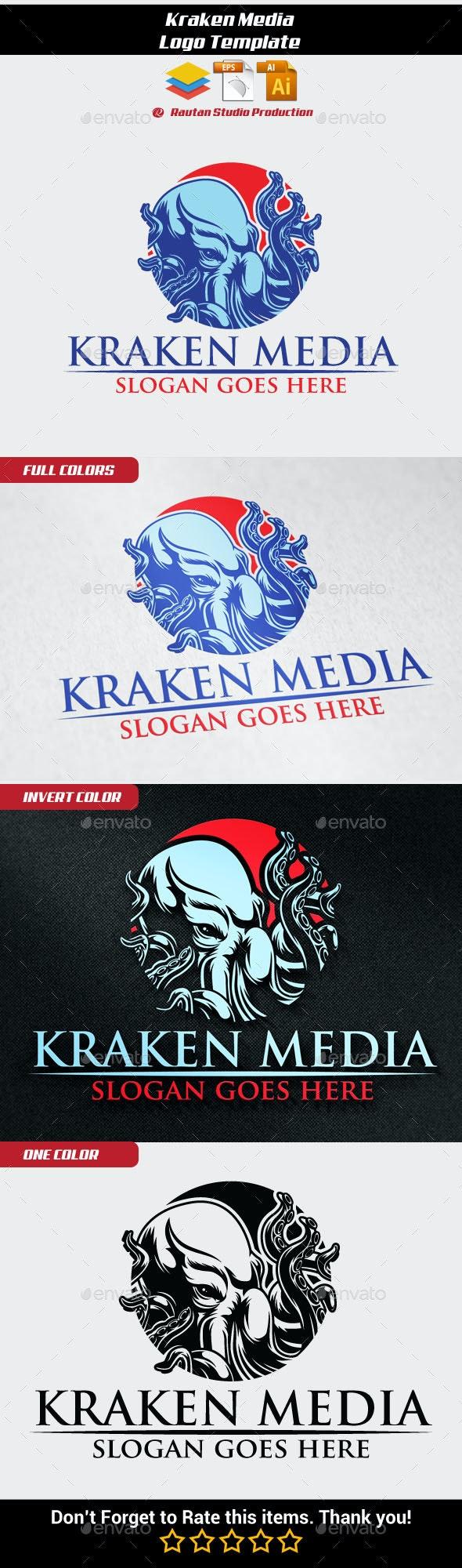 Kraken Media - Animals Logo Templates