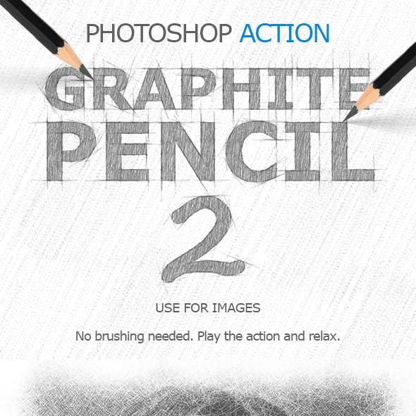 Graphite Pencil 2 Photoshop Action