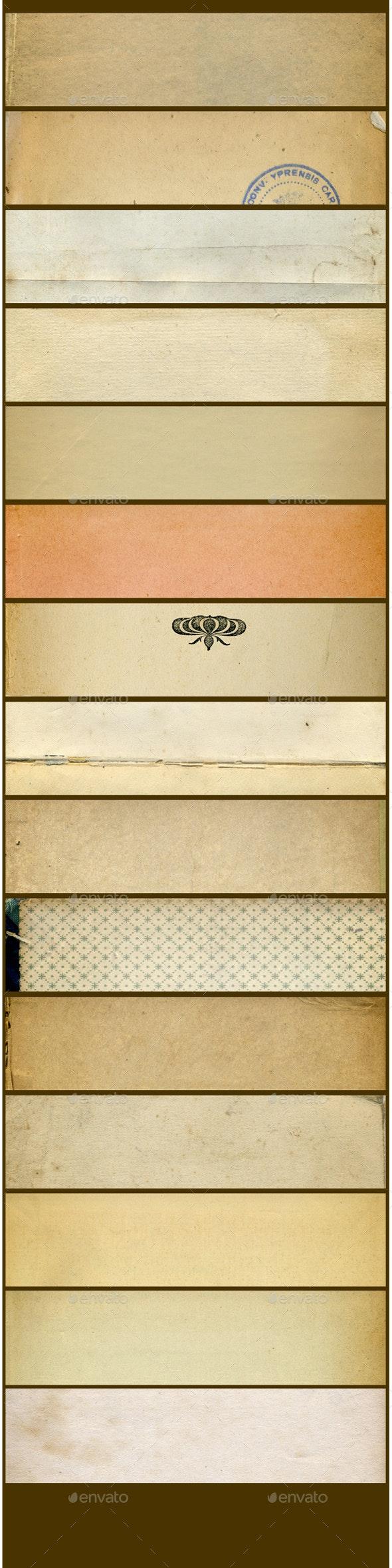 Antique paper textures pack - Paper Textures