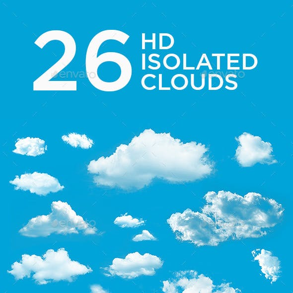 26 High Resolution Isolated Clouds