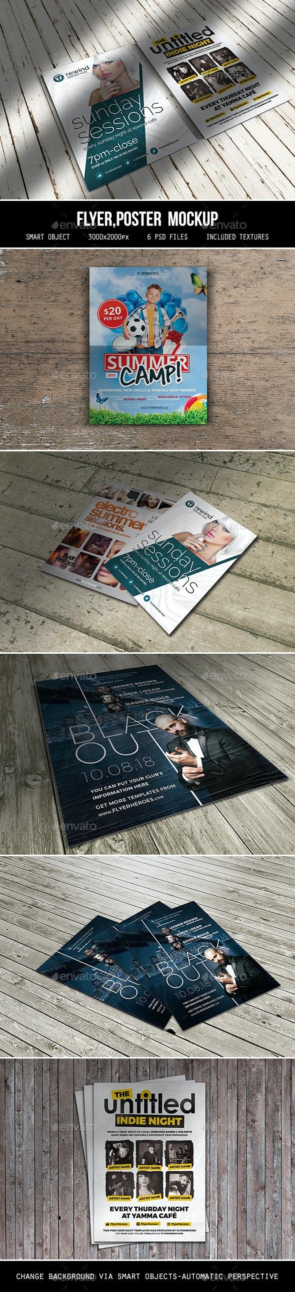 Flyer Poster Mockup - Flyers Print