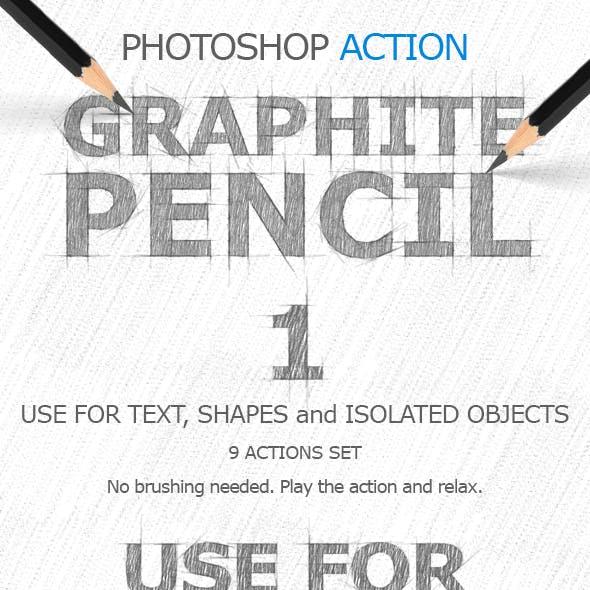 Graphite Pencil 1 Ps. Actions