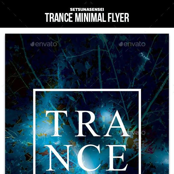 Trance Minimal Flyer