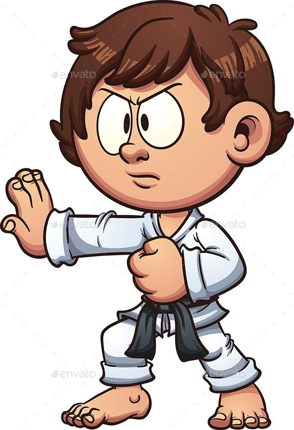 Karate Kid - People Characters