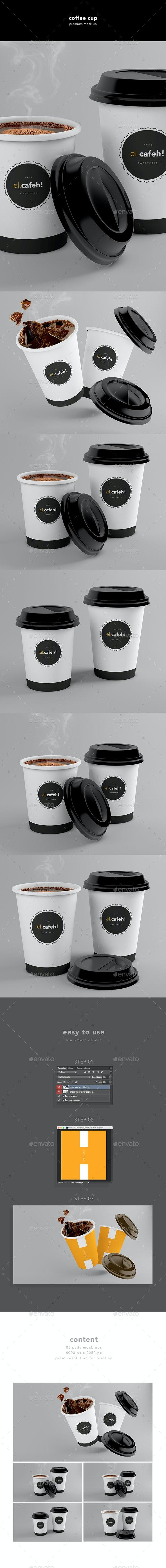 Coffee Cup - Mockup - Food and Drink Packaging