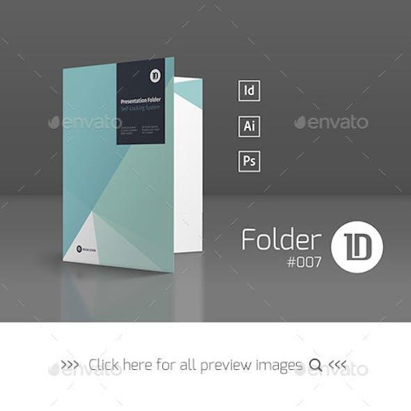 Presentation Folder Template 007