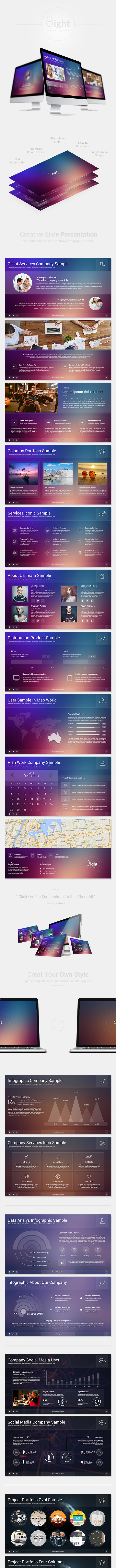 8ight Powerpoint - Creative PowerPoint Templates